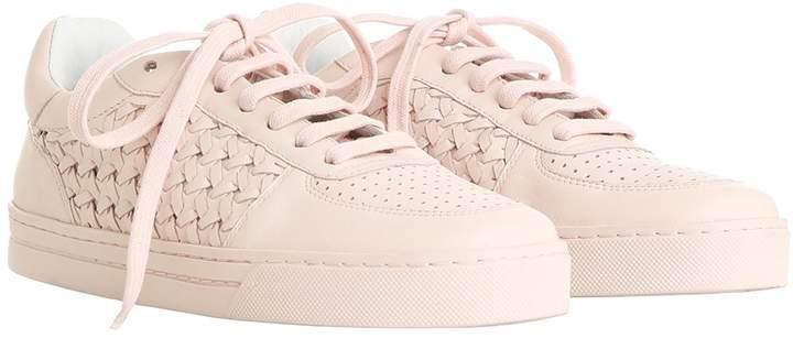 Men's Clothing Zimmermann White Woven Sneaker $395