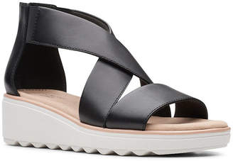 Clarks Collection Women Jillian Rise Wedge Sandals Women Shoes