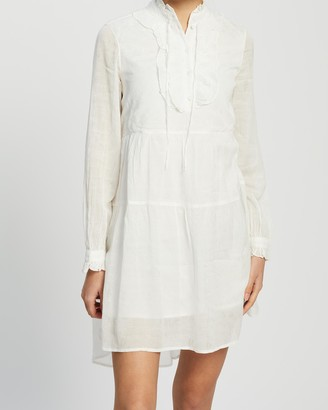 Vero Moda Copenhagen Studio LS Frill Dress