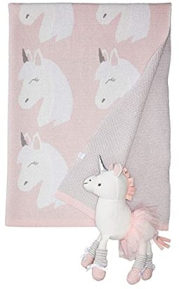 Elegant Baby Unicorn Blanket and Toy Set (Infant) (Pink) Accessories Travel