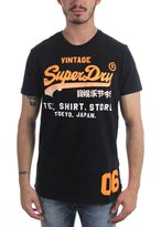 Superdry Mens Shirt Shop Fade T-Shirt