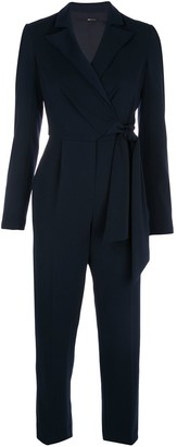 Jay Godfrey wrap-front tailored jumpsuit