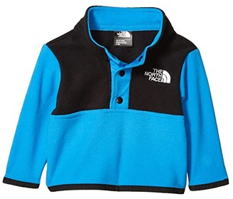 The North Face Kids Glacier 1/4 Snap (Infant) (Fiery Red) Kid's Long Sleeve Pullover