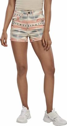 Urban Classics Women's Ladies Inka Highwaist Shorts