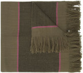 Denis Colomb striped scarf - women - Cashmere - One Size