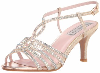 Touch Ups Women's T-Strap Sandal Heeled
