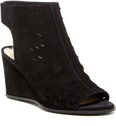 Via Spiga Leatrice Perforated Wedge Sandal