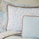 Caden Lane Modern Vintage Standard Pillow Sham in Blue