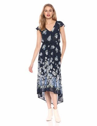 Lucky Brand Women's Floral Printed Felice Dress
