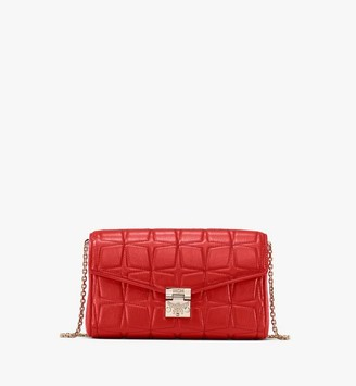 MCM Millie Crossbody in Quilted Leather