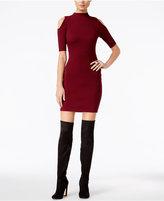 GUESS Allison Cold-Shoulder Bodycon Dress