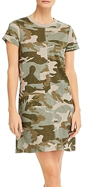 ATM Anthony Thomas Melillo Camouflage Print Dress
