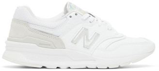 New Balance White Iridescent 997H Sneakers