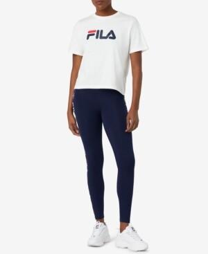 Fila Parma High-Rise Logo Full Length Leggings