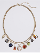 M&S Collection Acorn Charm Collar Necklace