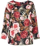 Hallhuber Rose print blouse
