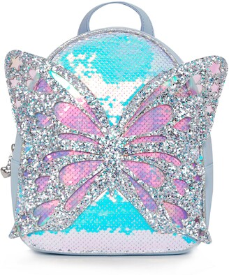 OMG Accessories OMG Miss Butterfly Sequin Mini Backpack