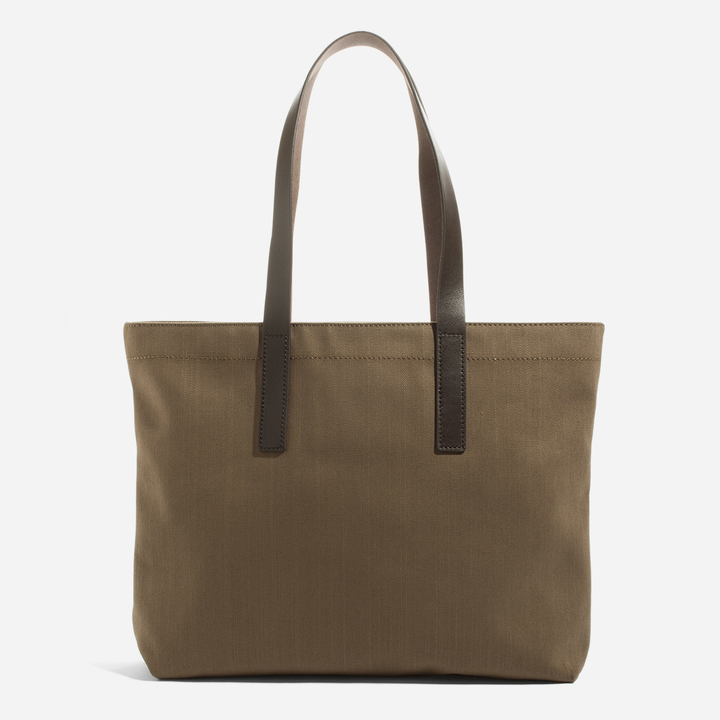 Everlane The Twill Zip Tote