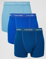 Calvin Klein 3 Pack Cotton Stretch Trunks