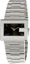 Gucci G-Rectangle Stainless Steel Watch, Black