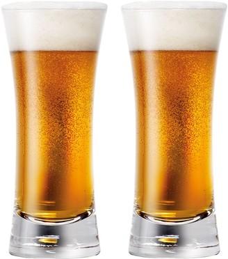 Cellar Premium UVA 2 Piece Pilsner Beer Glass Set 400ml