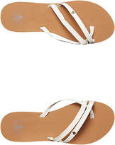 Reef New Women's Womens Ocontrare Thong Rubber Soft White
