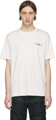 Paul Smith White Logo T-Shirt