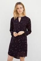 Persephone Starburst Print Challis Dress