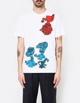 Comme des Garcons Pattern Jersey T-Shirt