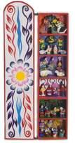 Handcrafted Religious Retablo Diorama Andean Folk Art, 'Scenes from My Land'