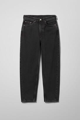 Weekday Meg High Mom Jeans - Grey
