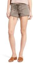 Blank NYC Women's Blanknyc Lace-Up Shorts