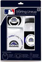Baby Fanatic MLB Colorado Rockies Baby Essentials Gift Set