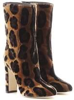 Dolce & Gabbana Velvet boots