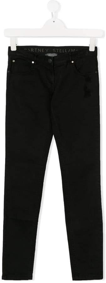 Stella McCartney TEEN ripped skinny jeans