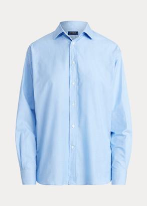 Ralph Lauren Cotton High-Low Shirt