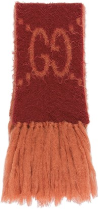 Gucci GG mohair wool scarf