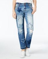 William Rast Best Friend Star Medium Blue Wash Boyfriend Jeans