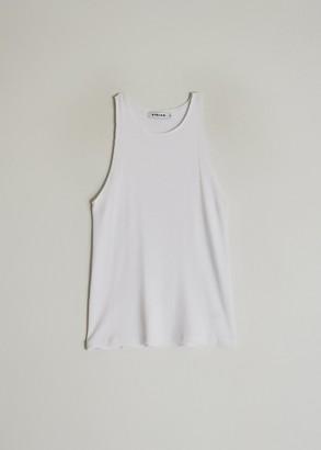 Stelen Women's Mica Tank Top in White, Size Small | Spandex