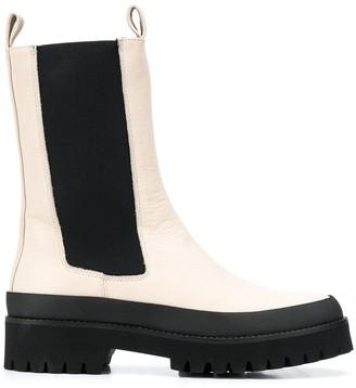 Paloma Barceló Calf-Length Ankle Boots
