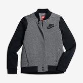 Nike Sportswear Tech Fleece Destroyer Big Kids' (Girls') Jacket