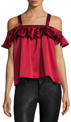 Edit Ballon Ruffle Top