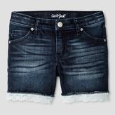 Cat & Jack Girls' Jean Shorts Cat & Jack - Dark Blue
