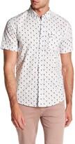 Heritage Flamingo Print Slim Fit Sport Shirt