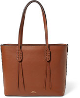Polo Ralph Lauren Ralph Lauren Pebbled Leather Small Tote