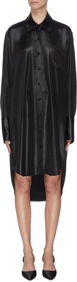 Alexander Wang Oversized high-low shirt dress
