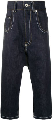 Lanvin Drop-Crotch Jeans