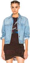Etoile Isabel Marant Coften Fancy Studded Denim Jacket