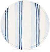Daniel Cremieux Hand-Painted Striped Earthenware Salad Plate