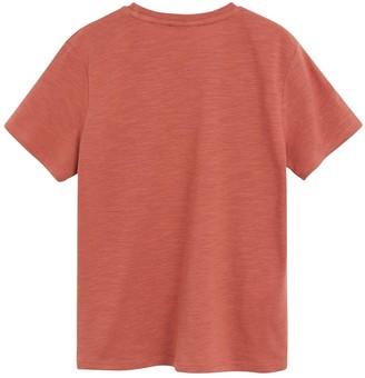 MANGO Boys Jungle Short Sleeve Tshirt - Red
